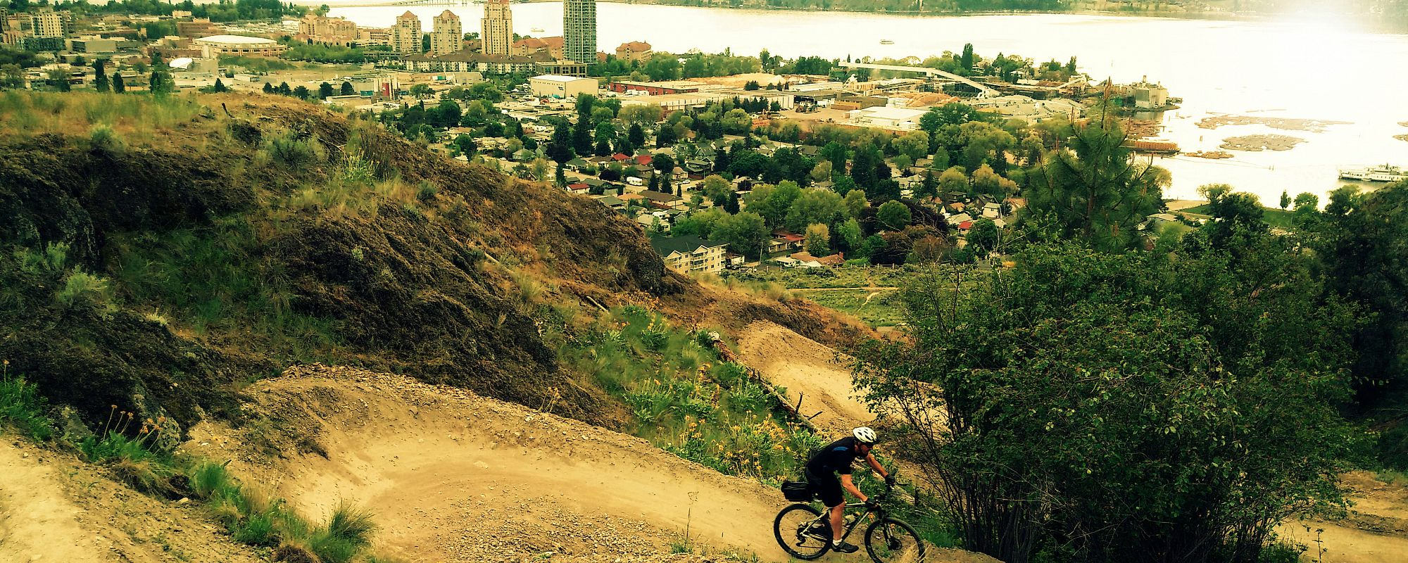Biking in Kelowna